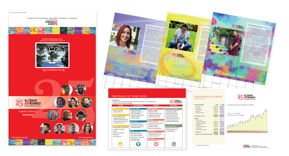 Career Resources, Inc. Annual Report and Calendar